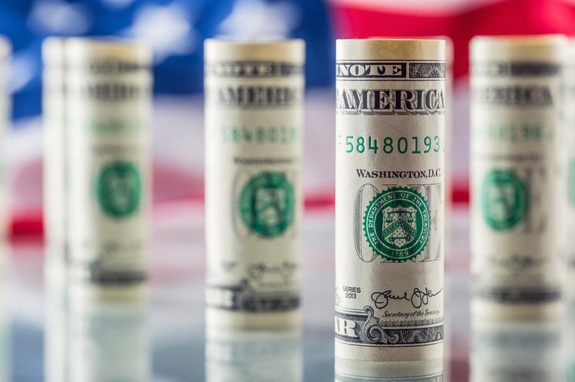 Kurs dolara wystrzelił, kurs euro dryfuje wyżej /123RF/PICSEL