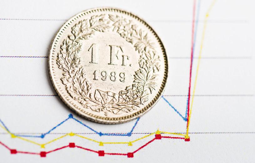 Kurs franka szwajcarskiego osiągnął dziś poziom 4,35 zł. /123RF/PICSEL