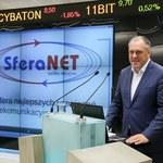 Kurs SferaNET wzrósł w debiucie na NewConnect o 60 procent