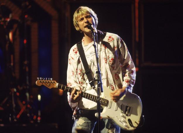 Kurt Cobain (Nirvana) w 1992 roku - fot. Frank Micelotta /Getty Images/Flash Press Media