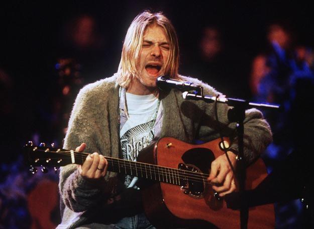 Kurt Cobain (Nirvana) w 1993 roku - fot. Frank Micelotta /Getty Images/Flash Press Media
