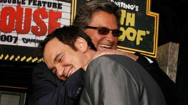 Kurt Russell i Quentin Tarantino bardzo zaprzyjaźnli się przy okazji wspólnej pracy / fot. K. Winter /Getty Images/Flash Press Media
