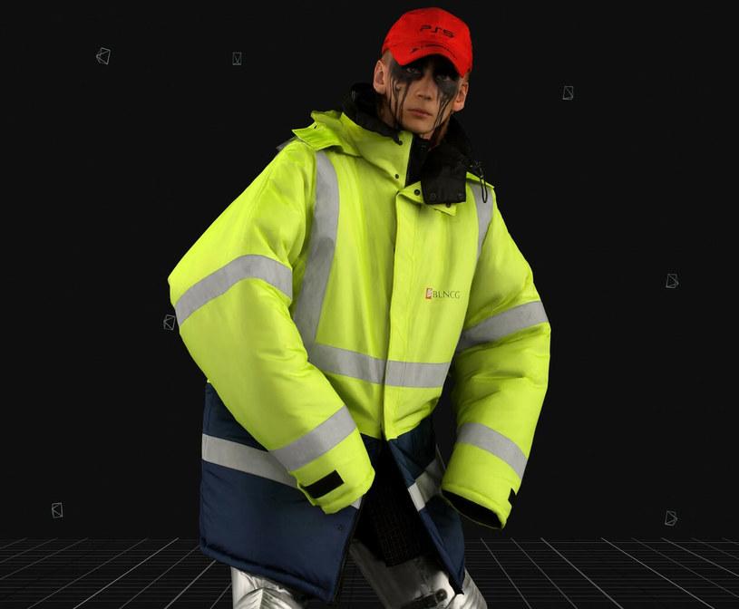 Kurtka Balenciagi przypominająca kurtkę budowlańca wzbudza spore kontrowersje nawet wśród fanów marki /SplashNews.com /East News