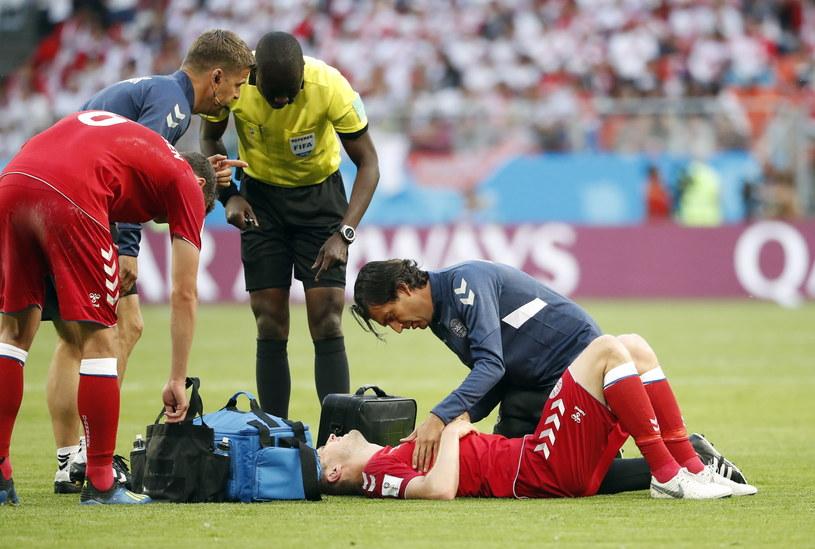 Kvist doznał kontuzji w meczu z Peru /PAP/EPA