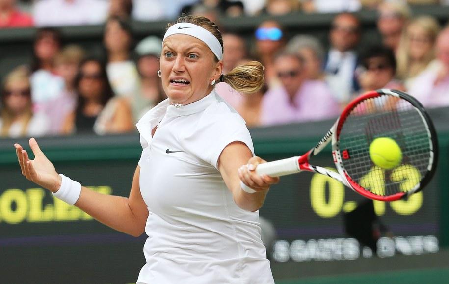 Kvitova nie dała szans rywalce /TATYANA ZENKOVICH  /PAP/EPA