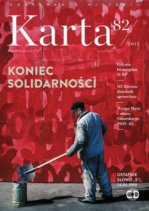 """Kwartalnik """"Karta"""" nr 82/2015 /materiały prasowe"""