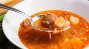 Kwaśna zupa gulaszowa