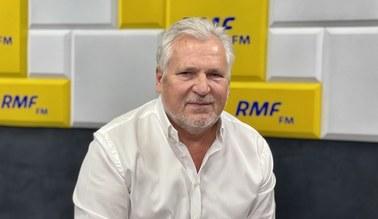 Kwaśniewski: Jeśli Tusk chce wrócić, to musi wrócić na sto procent