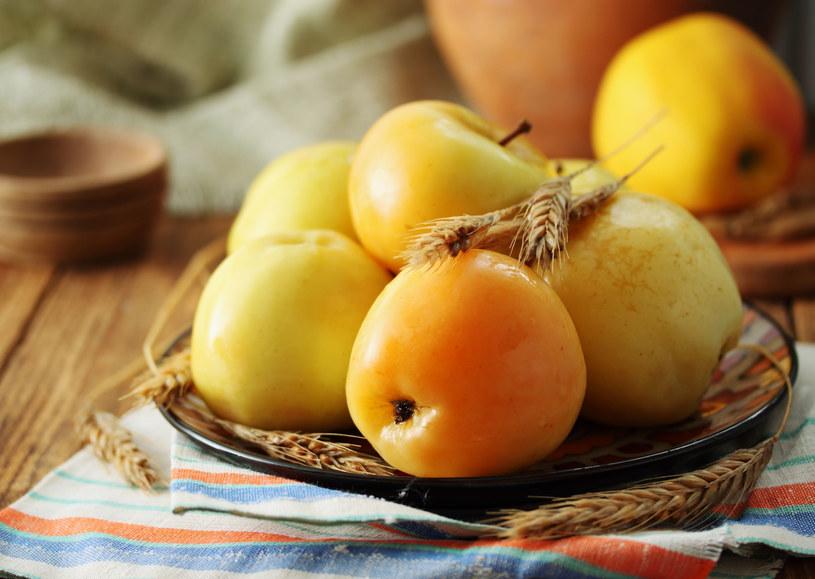Kwaszone jabłka z jarzębiną /123/RF PICSEL /123RF/PICSEL