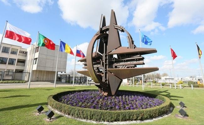 Kwatera główna NATO w Brukseli /PAP/EPA/JULIEN WARNAND /PAP/EPA