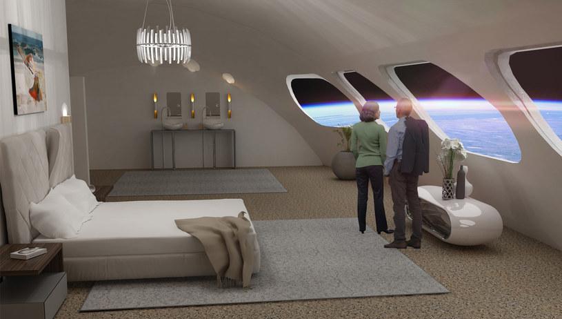 Kwatery stacji kosmicznej mają być wyjątkowo komfortowe /materiały prasowe