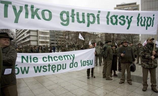 """Kwestia Lasów Państwowych jest """"drażliwa"""". Fot. Michał Dyjuk /Reporter"""