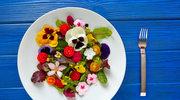 Kwiaty na talerzu