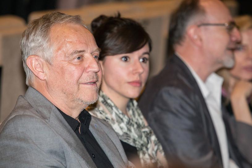 Kwiecień 2015, Antonina (wówczas) Turnau i Marek Kondrat /AKPA