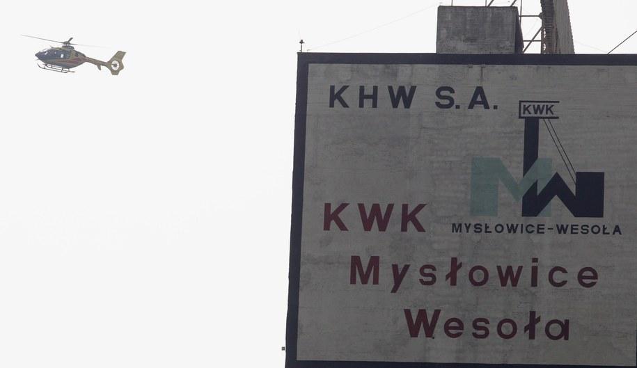 """KWK """"Mysłowice-Wesoła"""" /Andrzej Grygiel /PAP"""
