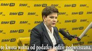 Kwota wolna od podatku: Stopniowo podwyższana czy jednolita danina? Tłumaczy premier Beata Szydło