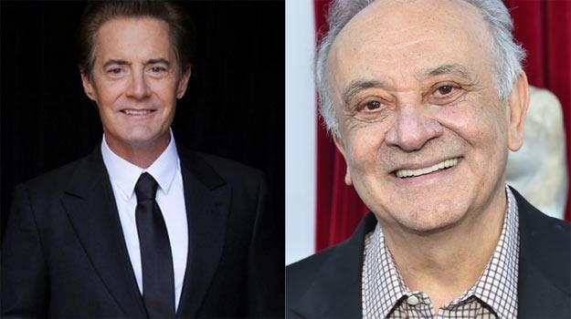 """Kyle MacLahlan (L) i Angelo Badalamenti (P) powrócą do """"Miasteczka Twin Peaks"""" /A.E.Rodriguez /Getty Images"""