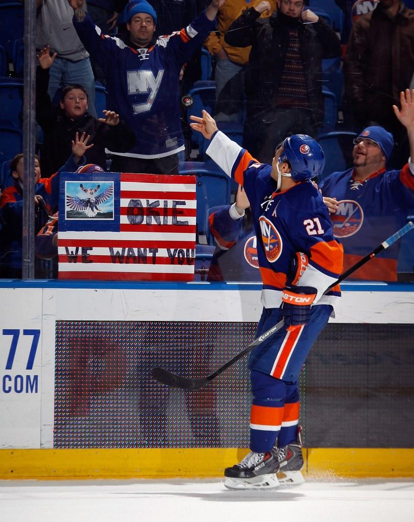 Kyle Okposo z New York Islanders /AFP
