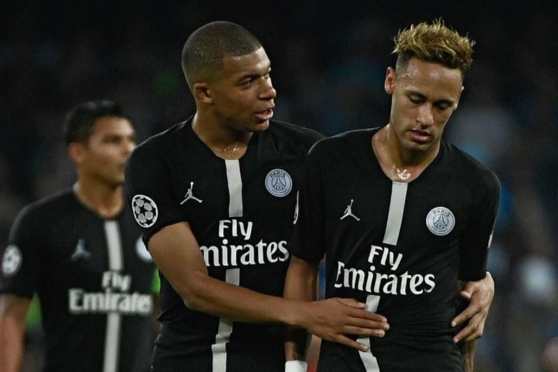 Kylian Mbappe i Neymar /AFP