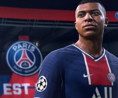 Kylian Mbappé na okładce FIFY 21. Projekt wzbudził wśród graczy spore kontrowersje