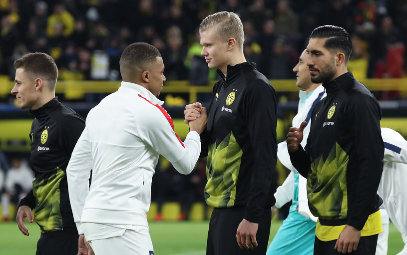 Kylian Mbappe (z lewej) i Erling Haaland /Alex Grimm /Getty Images