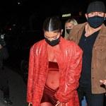Kylie Jenner cała na czerwono!