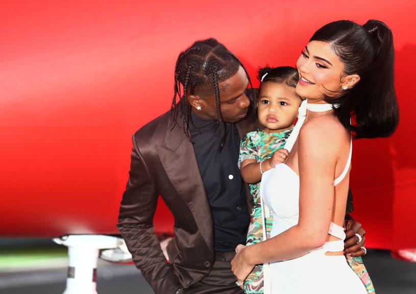 Kylie Jenner i Travis Scott /Tommaso Boddi /Getty Images