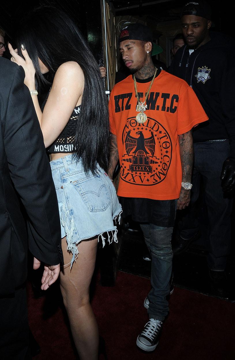 Kylie Jenner i Tyga /Daniel Zuchnik /Getty Images