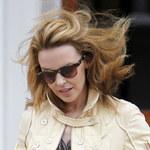 Kylie Minogue boi się... wieszaków