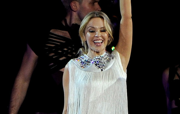 Kylie Minogue, fot. Carlos Alvarez   /Getty Images/Flash Press Media