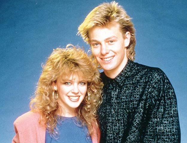 Kylie Minogue i Jason Donovan w latach 80. /