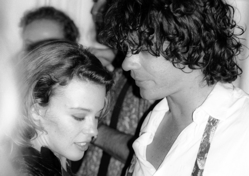 Kylie Minogue i Michael Hutchence w 1990 roku /Peter Carrette Archive /Getty Images