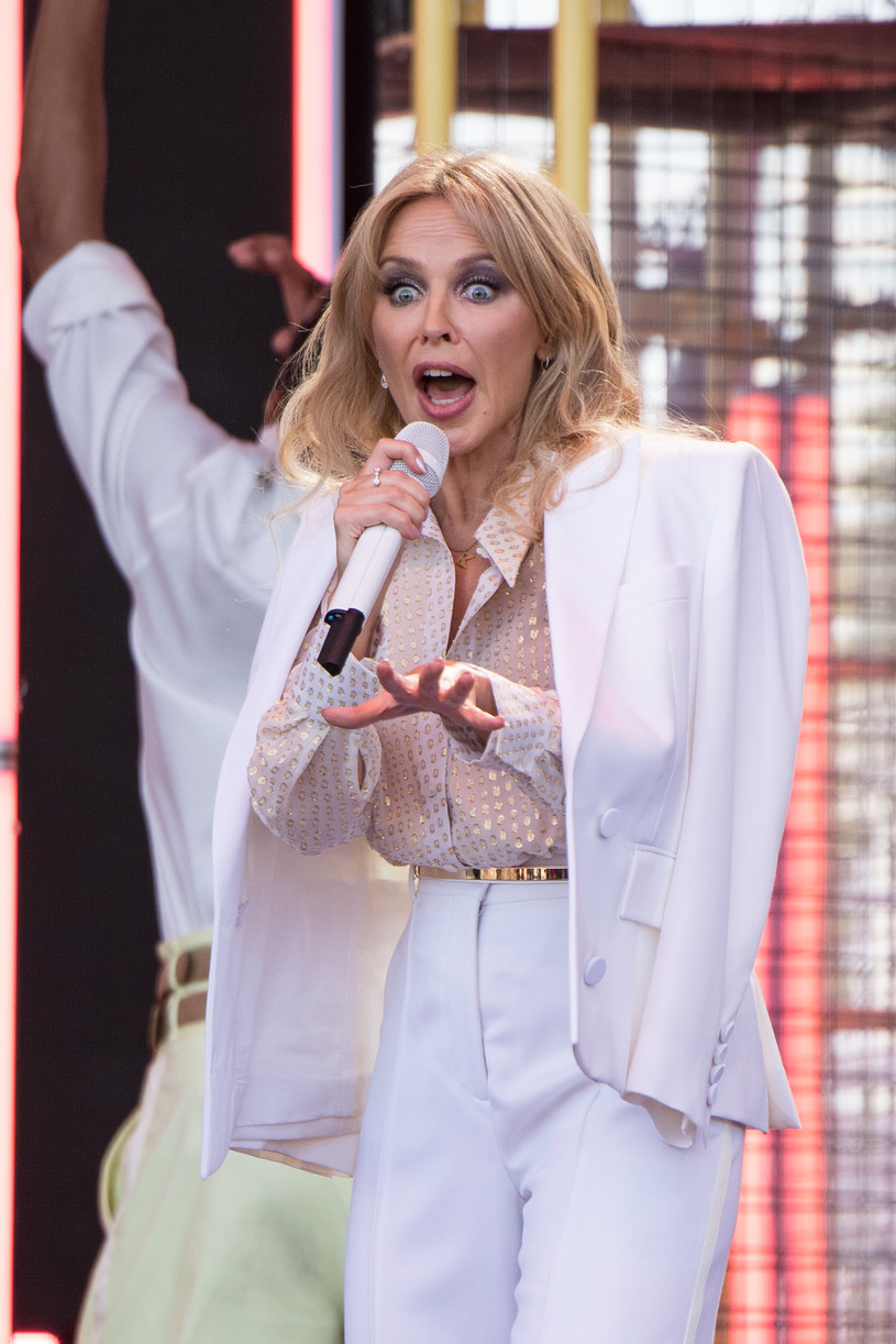 Kylie Minogue na Glastonbury /Harry Durrant /Getty Images
