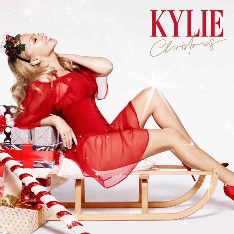 """Kylie Minogue na okładce płyty """"Christmas"""" /"""