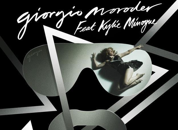 "Kylie Minogue na okładce singla ""Right Here, Right Now"" /"