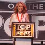 "Kylie Minogue podczas gali ""TOTP"" /"