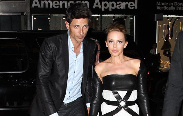 Kylie Minogue z chłopakiem  /Splashnews