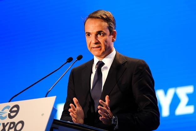 Kyriakos Micotakis, premier Grecji /PAP