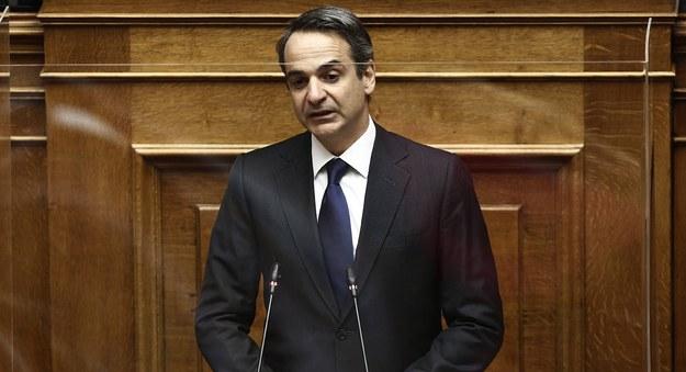 Kyriakos Micotakis /ALEXANDROS VLACHOS /PAP/EPA