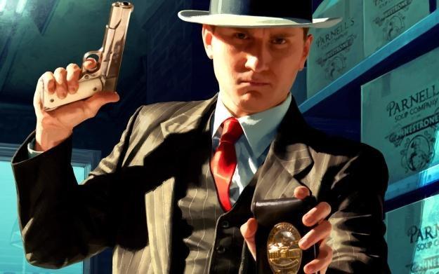 L.A. Noire - motyw graficzny /Informacja prasowa