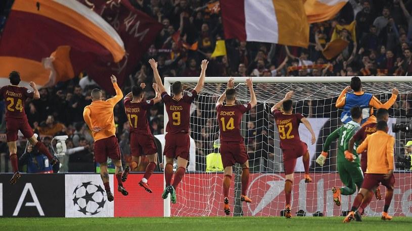 L'AS Roma fête son exploit /Getty Images