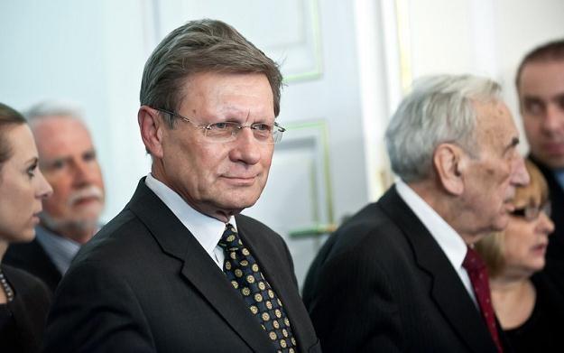 L Balcerowicz w czasie debaty nad rządowym projektem zmian w systemie emerytalnym,fot. Bartosz Krupa /Agencja SE/East News