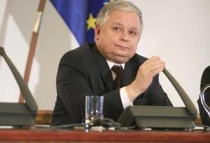 L.Kaczyński dla Reutersa o problematyce UE i NATO