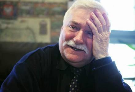 L. Wałęsa wyraził swoje zadowolenie z uzyskania tytułu honorowego obywatela stolicy /AFP