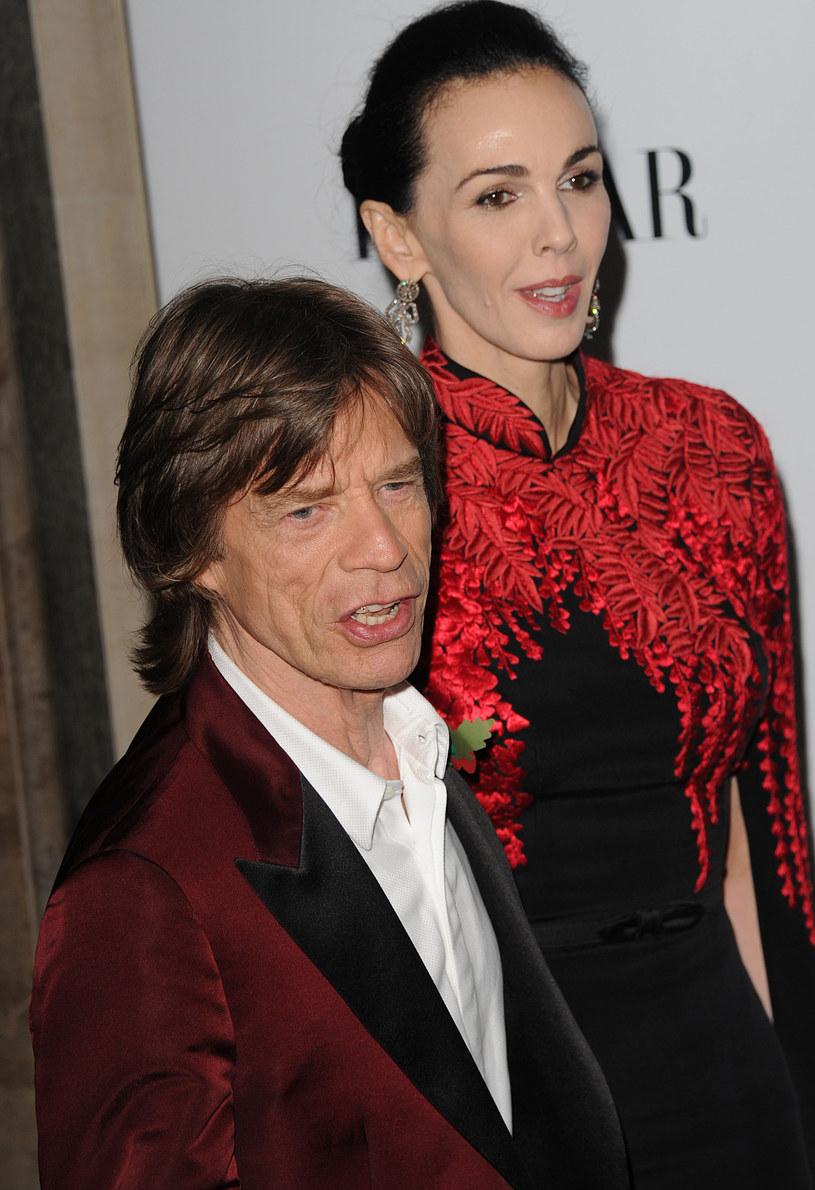 L'Wren Scott i Mick Jagger /Getty Images/Flash Press Media