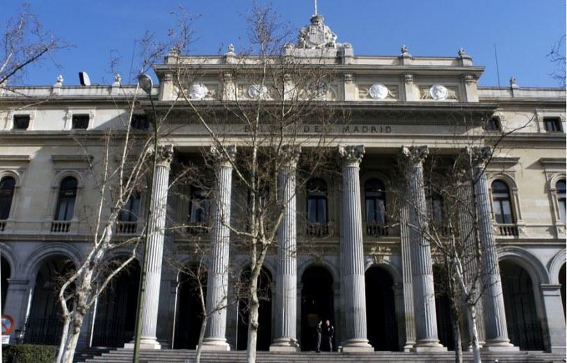 La Bolsa, hiszpańska giełda, Plaza de La Lealtad, Madryt /Jon Santa Cruz /East News
