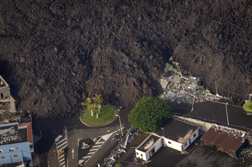 La Palma po erupcji wulkanu /EMILIO MORENATTI / POOL / AFP /AFP