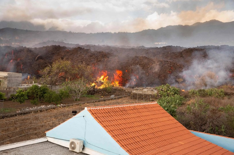 La Palma, rzeka lawy /AFP