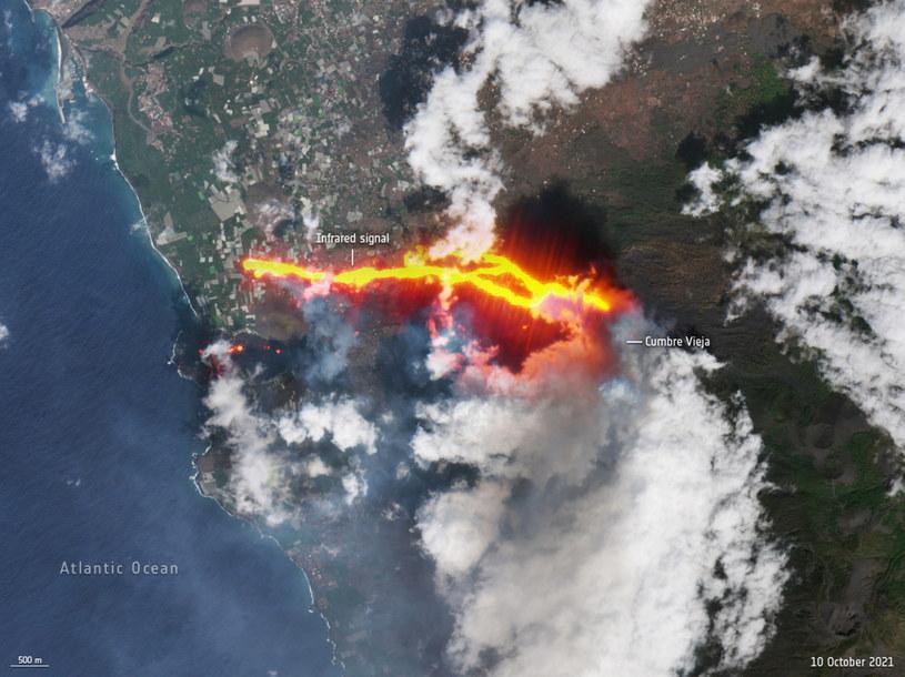 La Palma. Strach przed wulkanem i kolejne ewakuacje. Nadal trzęsie się ziemia /PAP/EPA