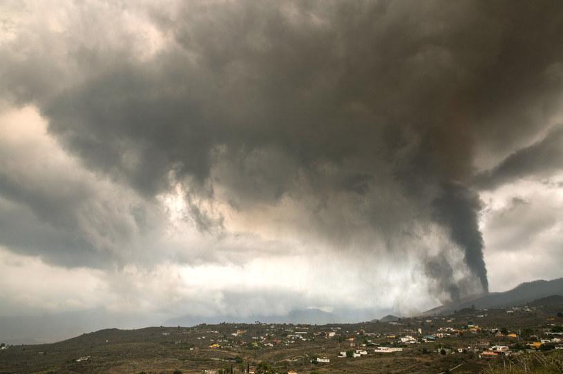 La Palma, wybuch wulkanu /AFP